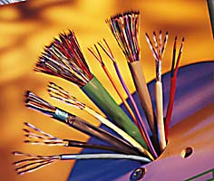 multi conductor wire cable,  pvc and plenum, shielded cable
