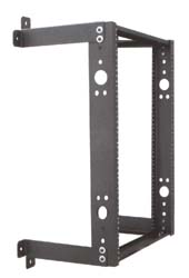 computer network equipment rack open frame wall mount fixed design quest manufacturing