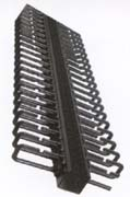 100 cable capacity rack mount vertical manager