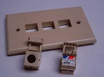 S-video snap-in module
