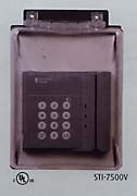 The vertical unit is for larger access control modules and card readers.
