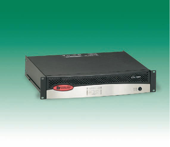 PUBLIC ADDRESS AMPLIFIER FOR INDUSTRIAL ENVIRONMENTS FEDERAL SIGNAL CTS600 CTS1200 CTS2000 CTS3000