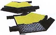 yellow jacket, yellow-jacket, yellowjacket right, left turns, portable cable wire protector, protectors, protections