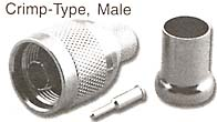 n connector, crimp type