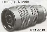 uhf female to n male connector