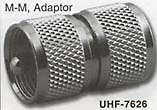 uhf male to male adaptor