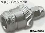 n connector to sma male